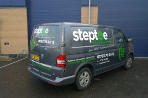 Who thought some simple stickers would transform this van into a brilliant advertising tool Vehicle Signwriting